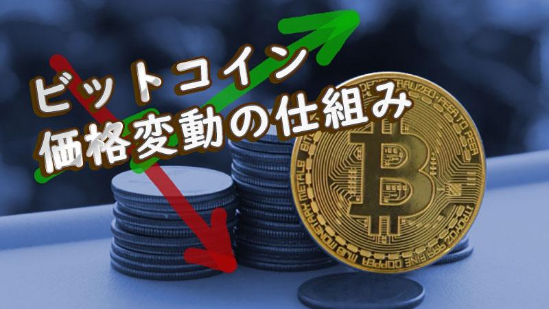 ビットコイン価格変動の仕組み